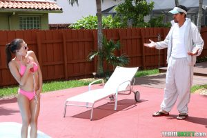 Exxxtra Small Carolina Sweets in Swimming In Semen 2