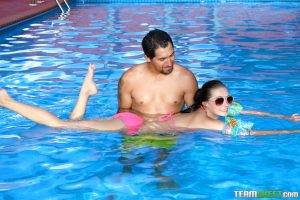 Exxxtra Small Carolina Sweets in Swimming In Semen 7