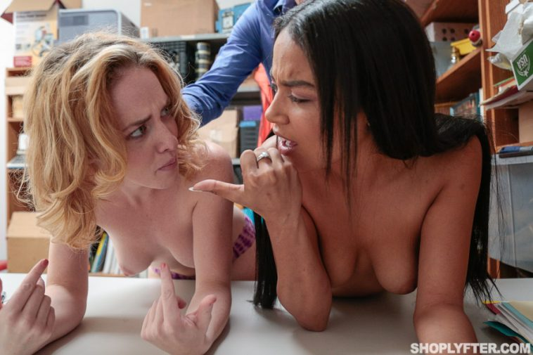 Shoplyfter Bonnie Grey And Maya Bijou in Case No. 8546259