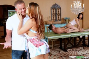 Bad Milfs Miss Raquel and Penelope Reed in Share With Your Mommy 15