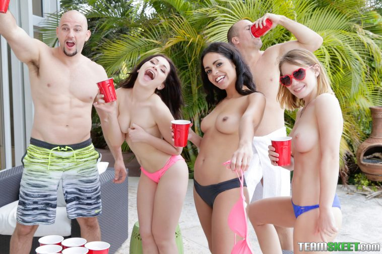 Bffs Jennifer Jacobs, Vienna Black and Raylin Ann in Spring Breaks 8