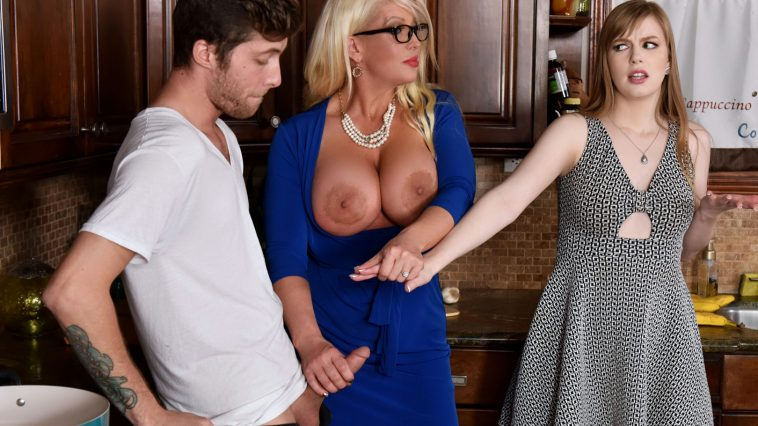 Bad Milfs Dolly Leigh & Alura Jenson in My Step Daughter's Boyfriend 8