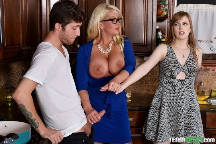 Bad Milfs Dolly Leigh & Alura Jenson in My Step Daughter's Boyfriend 8