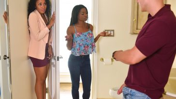 Bad Milfs Mya Mays and Jasmyne De Leon in Mother's Interracial Interaction 6