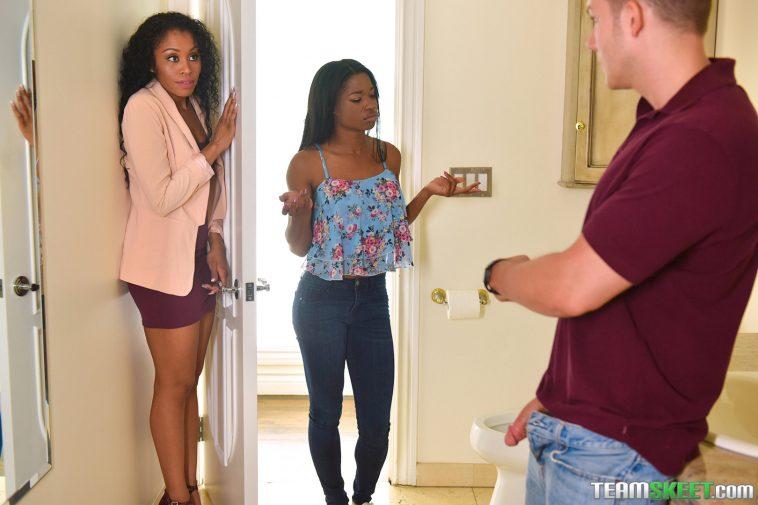 Bad Milfs Mya Mays and Jasmyne De Leon in Mother's Interracial Interaction 6