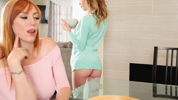 Dyked Angel Smalls & Lauren Phillips in Pussy For Breakfast 1