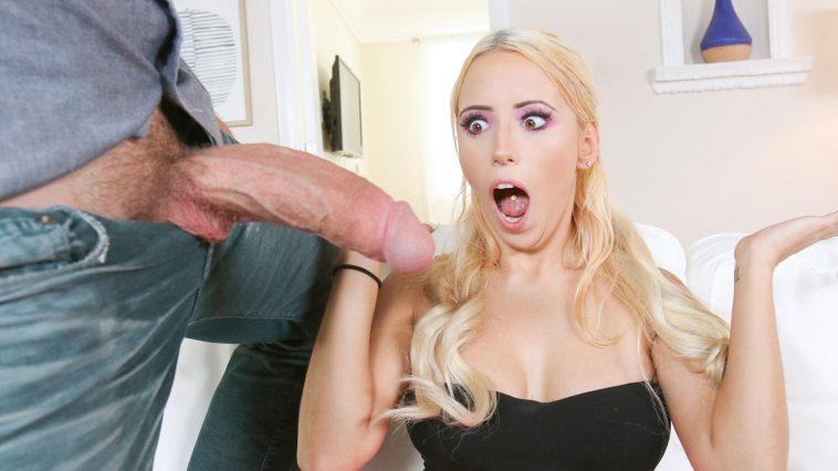 Blonde Fucked Parking Lot