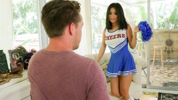 Exxxtra Small Monica Asis Hot Little Cheerleader 2