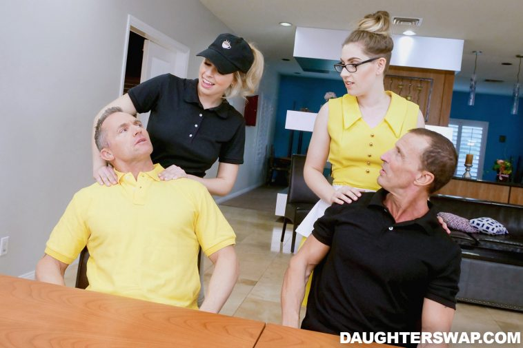 Daughter Swap Niki Snow and Zoey Monroe in The Sugar Daddy Swap Pt. 2 3