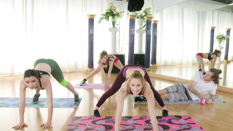 Bffs Victoria Gracen, Alex Blake, Maddie Winters in Perv Yoga 2