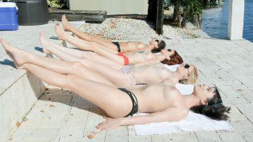 Bffs Nova Cane, Chloe Foster, Lola Fae in Wet Hot American Spring Break 3