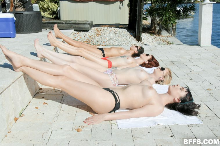 Bffs Nova Cane, Chloe Foster, Lola Fae in Wet Hot American Spring Break 3